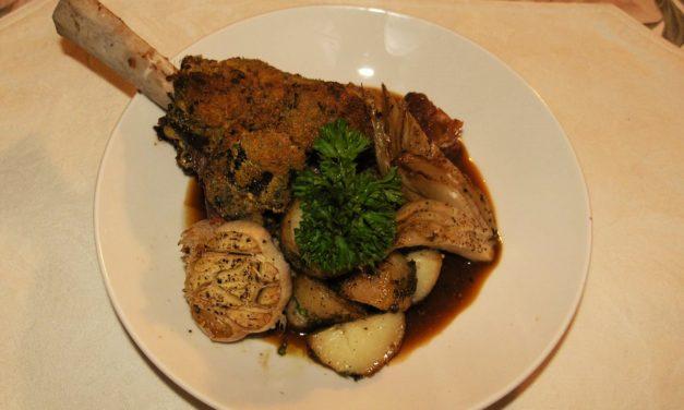 Lamb Shank Persillé