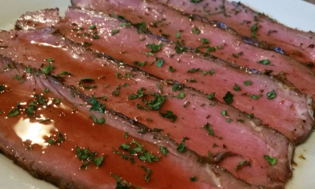 Sous Vide Beef Top Round: Don't Call It London Broil