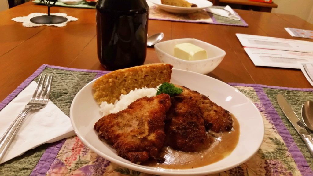 pork-cutlet-cornbread-rice-22