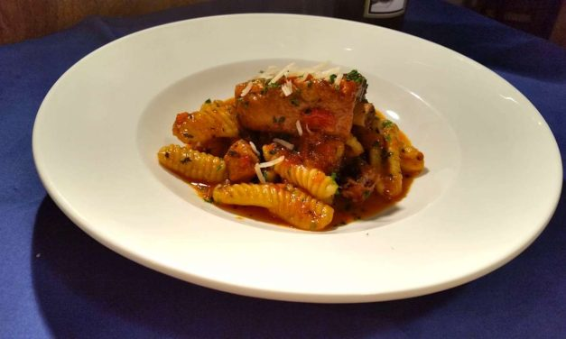 Pork Spareribs Ragù with Ricotta Cavatelli
