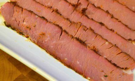 Sous Vide Beef Brisket Flat, Sous-B-Q™ Style