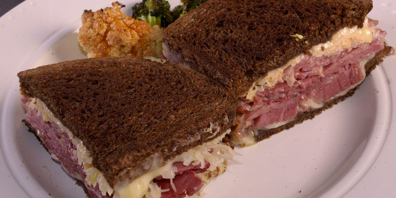 The Blackstone Reuben with Sous Vide Corned Beef