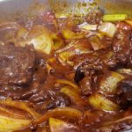 Stove-top Demi-glace from Tenderloin Trim