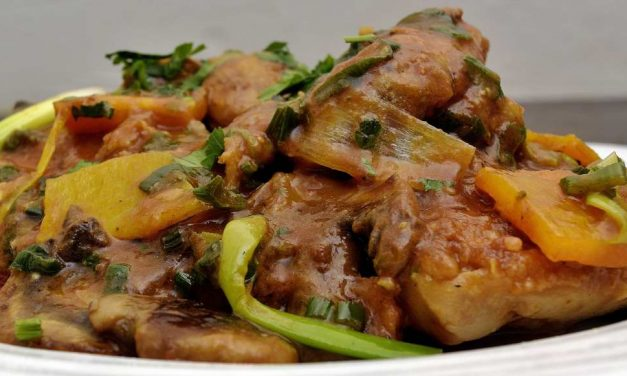 Sous Vide Chicken Cacciatore/Chausseur and the Saga of the Enterprising Woodsman