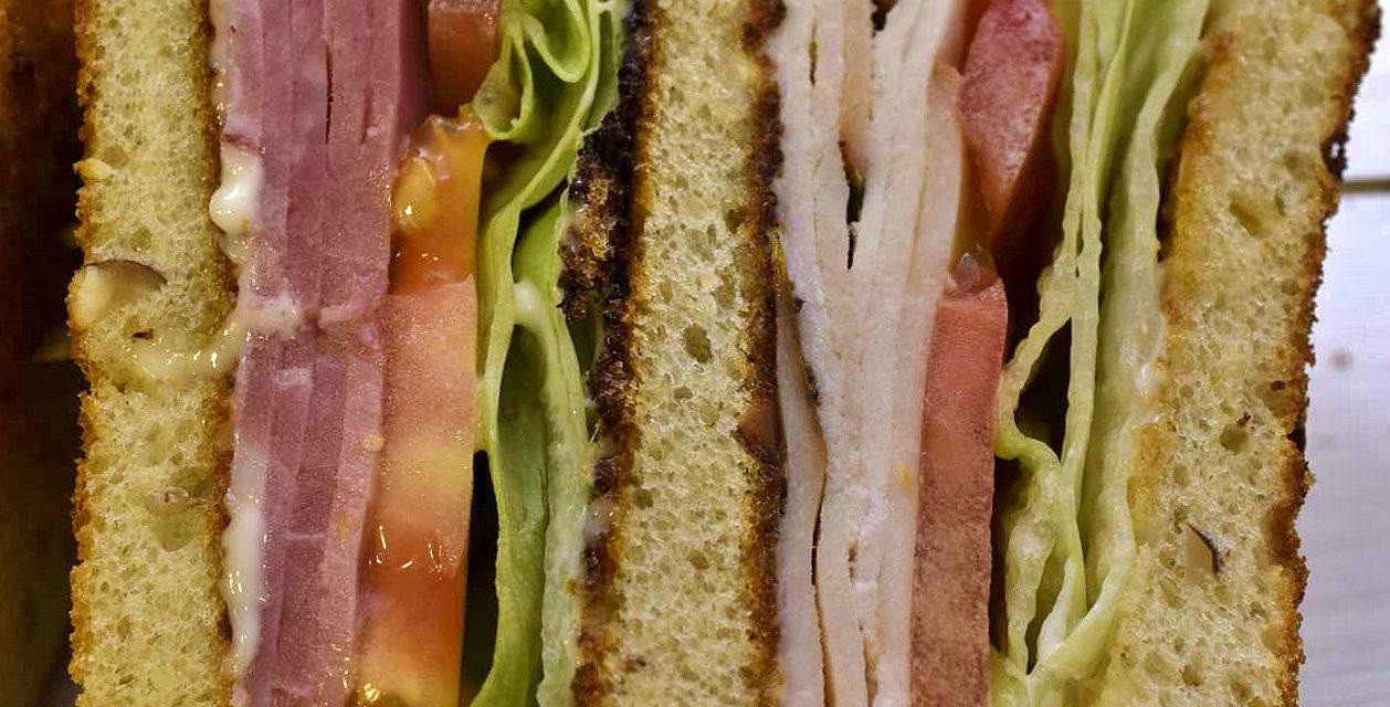 The Sous-B-Q Clubhouse Sandwich