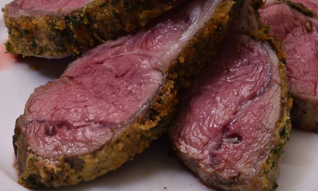 Sous Vide: The Quarantine Series, Part 1; Rack of Australian Lamb