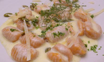 sous vide hybrids: butternut squash gnocchi