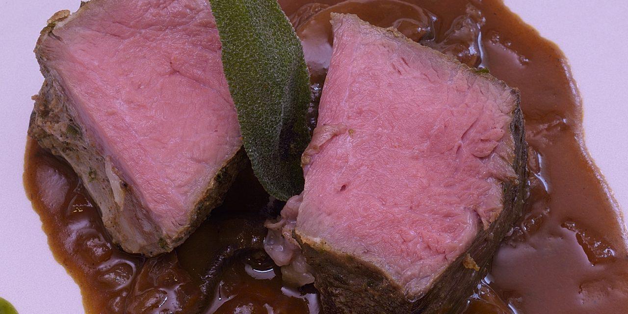 Sous Vide: Beef Chuck Roast with Mushroom Sauce