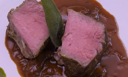 Sous Vide: Beef Chuck Roast with Mushroom Sauce