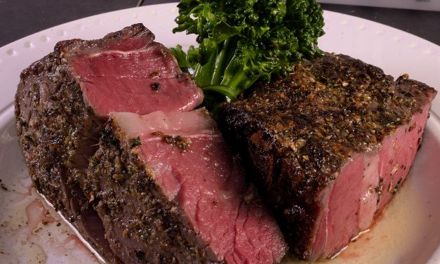 Sous Vide: 45 Day Aged Beef Rib Eye, Part 1–The Steak